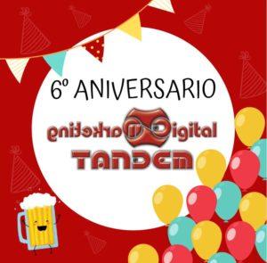 Diseño 6 aniversario Tandem
